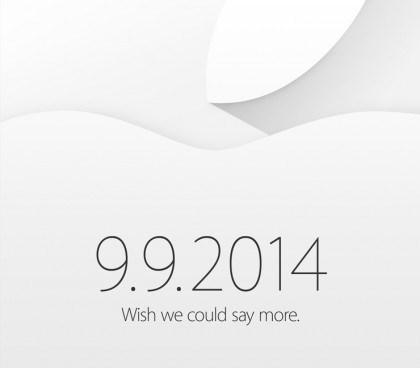 Convite Apple 9 de setembro de 2014