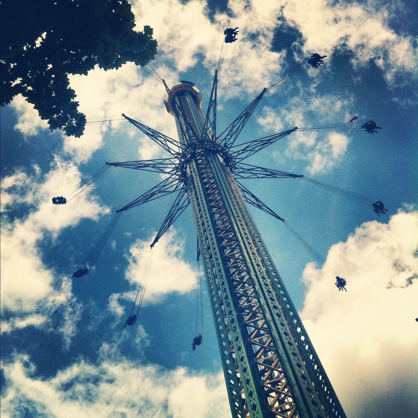 Vienna, Austria, expat, travel, Prater Tower, swing