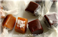 Chocolate and Salted Vanilla Caramels