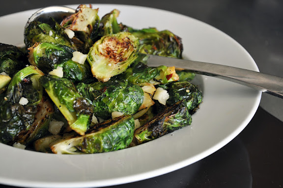 Recipe: Roasted brussels sprouts
