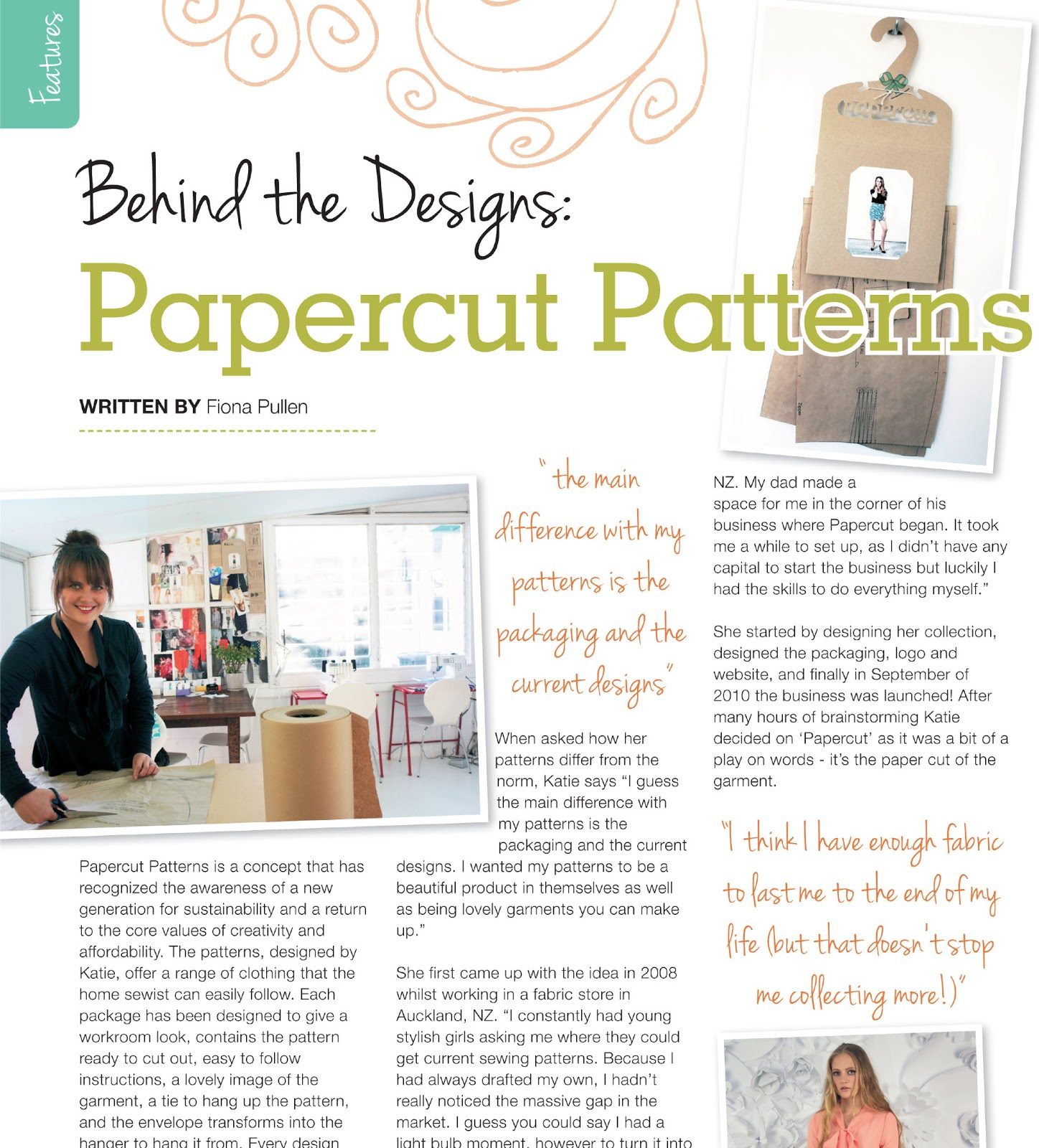 The papercut collective sewing world keep your eyes peeled for the april issue of uk based sewing world on sale from march 15th theres a two page spread all about how i got started jeuxipadfo Choice Image