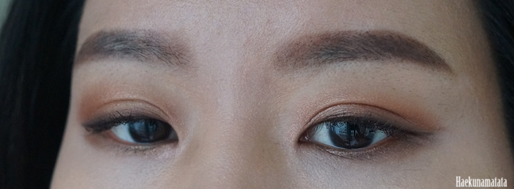 Korean Straight Brows Using Anastasia Beverly Hills Chocolate Dipbrow Pomade Swatch and Review FOTD