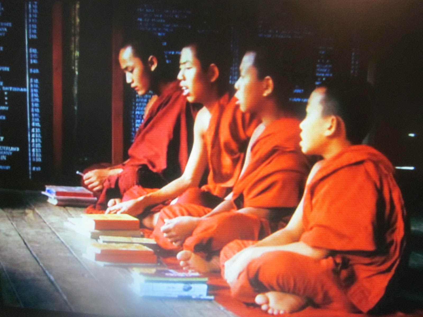 buddhists studying