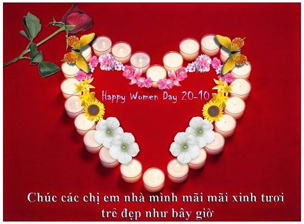 thiep 20 10 dep nhat 15 Ảnh 20/10 đẹp nhất Thiệp ngày 20/10 dành tặng chị em phụ nữ