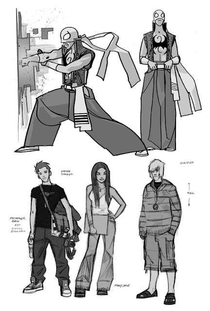 Cartooning The Ultimate Character Design Pdf : Fashion and action nycc preview ultimate fashionable