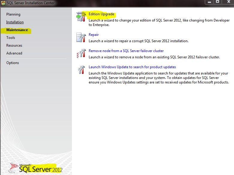 microsoft sql server evaluation period