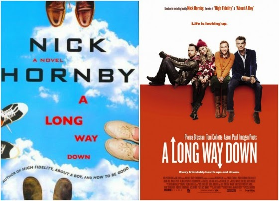 A Long Way Down Book to Movie