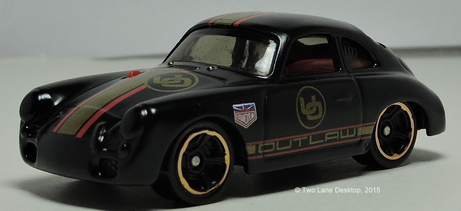 two lane desktop hot wheels porsche 356 outlaw. Black Bedroom Furniture Sets. Home Design Ideas