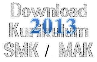 Download Struktur Kuriklum 2013 untuk  SMK / MAK Semua Jurusan