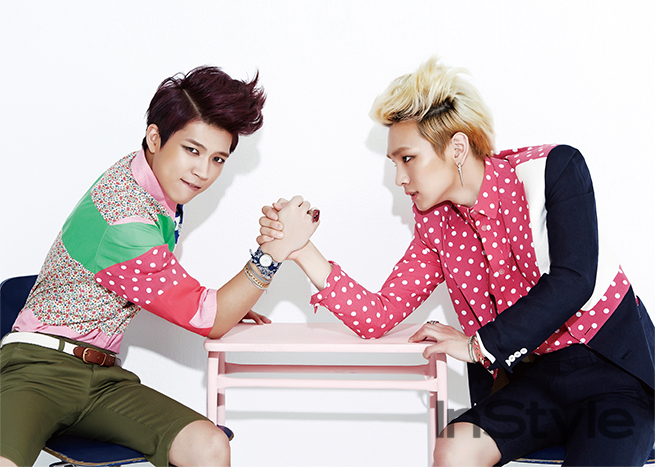 Toheart's Woohyun and Key
