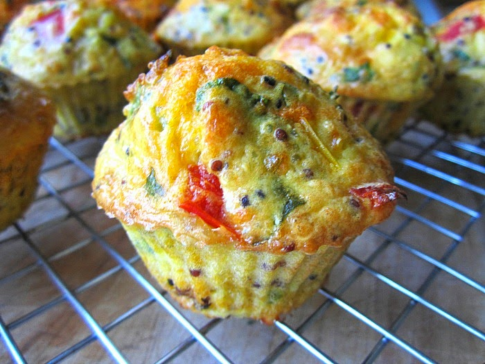Southwestern Quinoa Egg Muffins : (adapted from Ratatouille et Cie ...