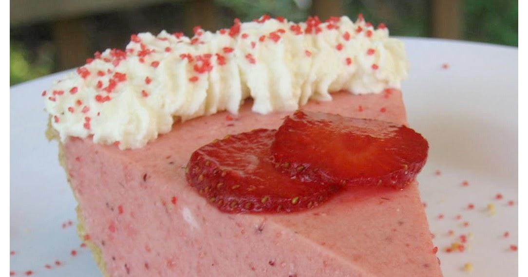 Tarte chiffon aux fraises