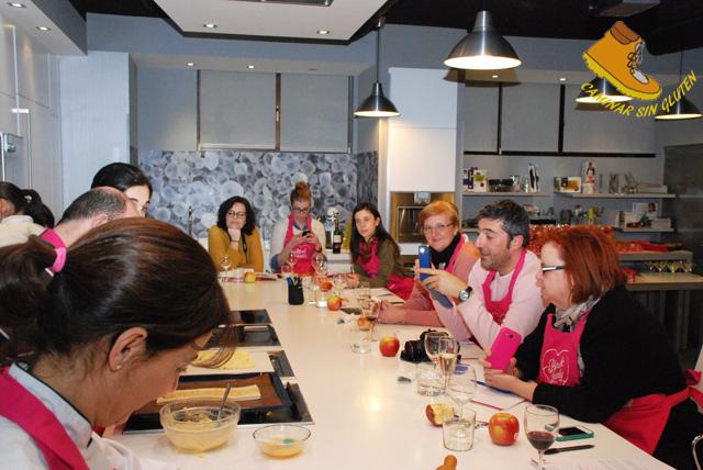 Caminar sin gluten taller con manzanas pinklady en la - Escuela cocina telva ...
