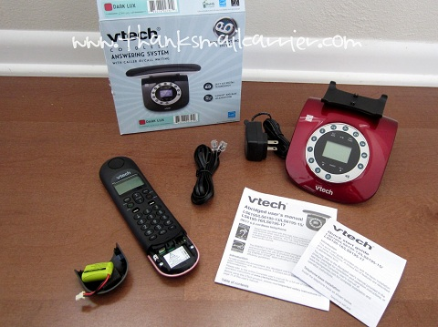 VTech Red Retro Phone review