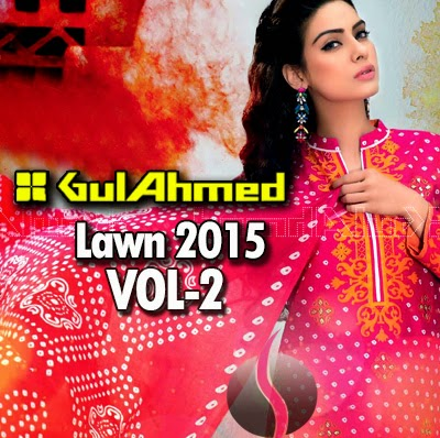Gul Ahmed Lawn 2015 Vol-3 Magazine
