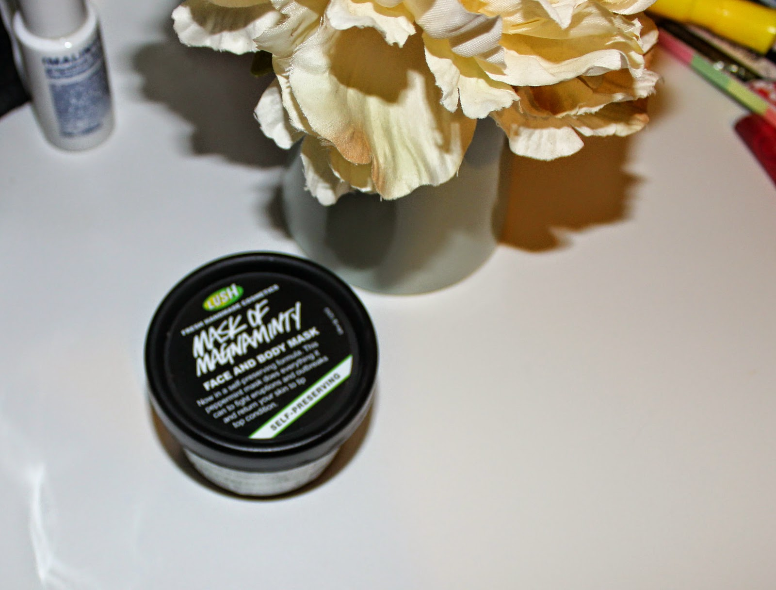 Lush mask of magnaminty review, Lush mask of magnaminty