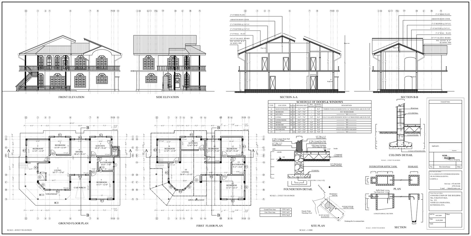 House Plans In Sri Lanka With s – Modern House