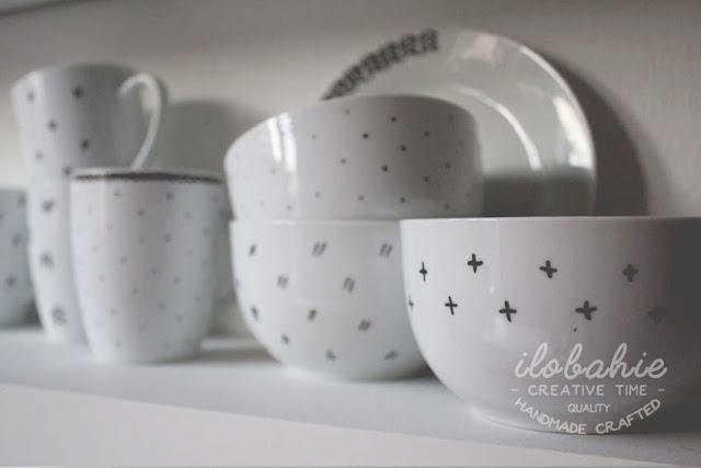 Ręcznie malowana ceramika