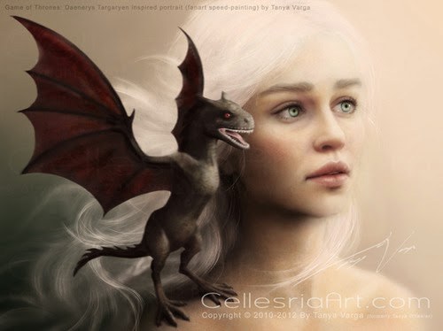 Beautiful Elf & her Dragon!