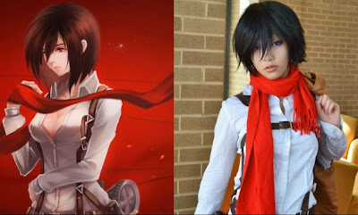 Perfect Mikasa Ackerman Cosplay 03