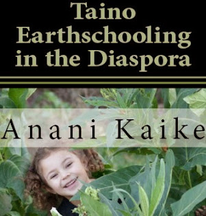 New book written by an 8 year old Taino child about her Earthschooling experiences in the Diaspora.