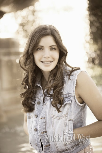 Senior High Girl Portrait - Senior Photos - Atascadero High School - Studio 101 West Photography