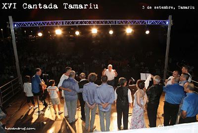 Cant comu a la XVI Cantada d'havaneres de Tamariu