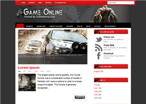 Game Online 2 Night Blogger Templates
