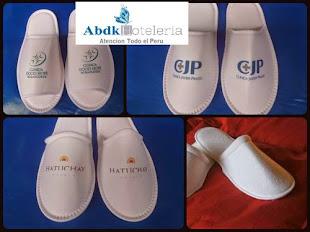 Pantuflas c/ logo Hoteleras