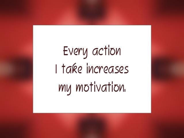 MOTIVATION affirmation