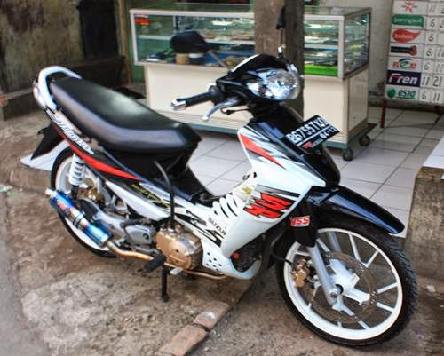 modifikasi suzuki shogun sp 2006