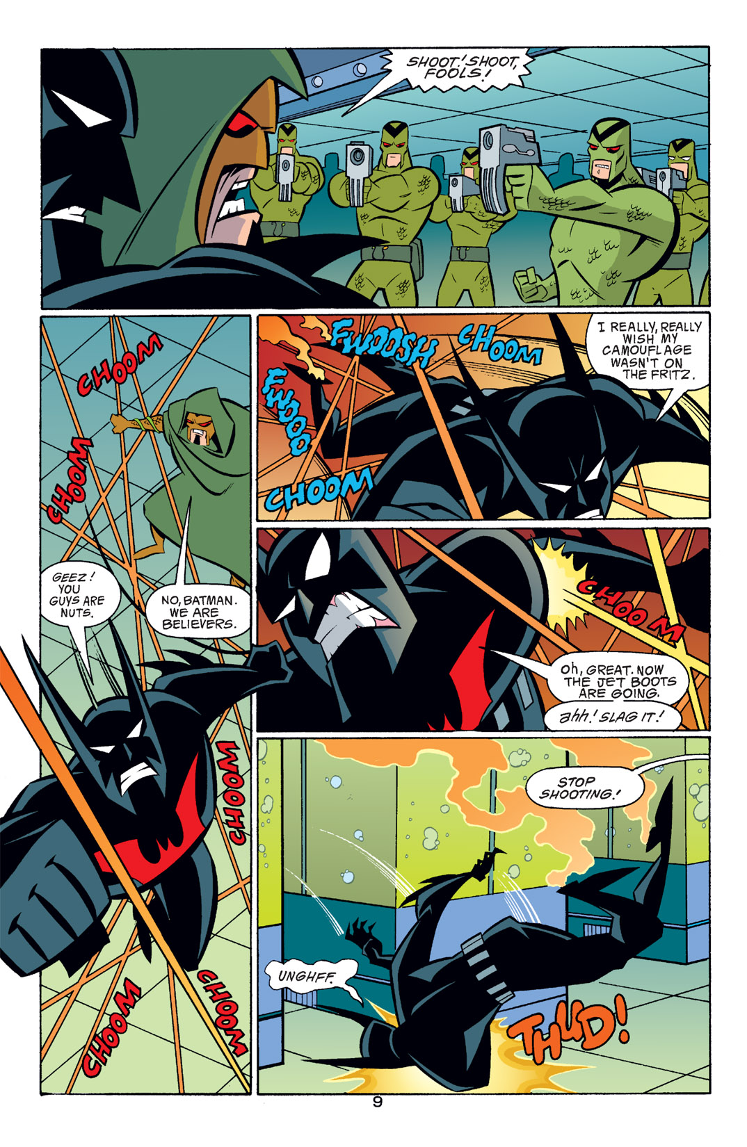 Batman Beyond [II] Issue #16 #16 - English 10