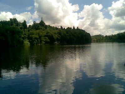 Indahnya Danau Parahyangan Situ Lengkong, Ciamis