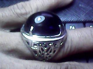 dijual batu kecubung wulung 2 warna hitam ukuran batu est 20 mm x 15 ...