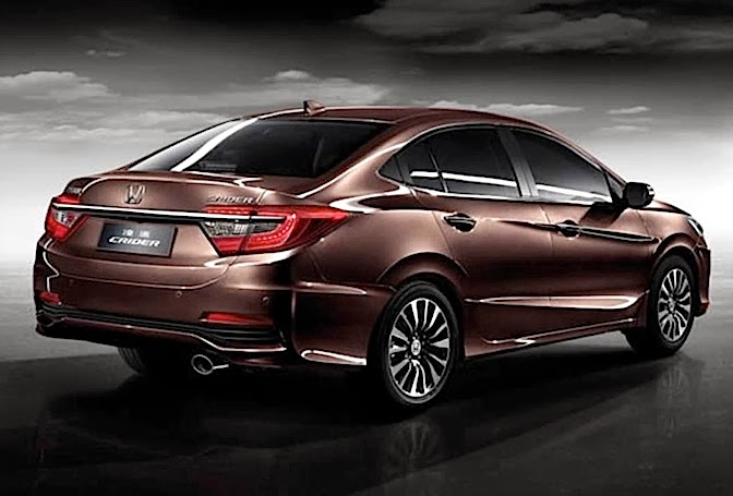 The new Honda City 2014