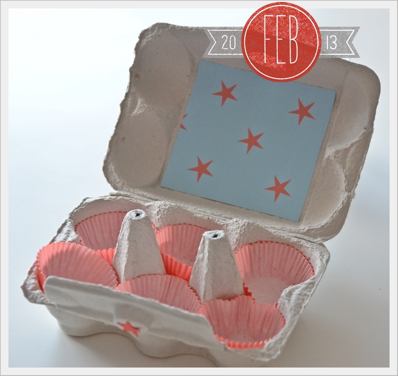 House no 43 muffins in eierschachtel muffins egg packaging for Eierkartons kaufen