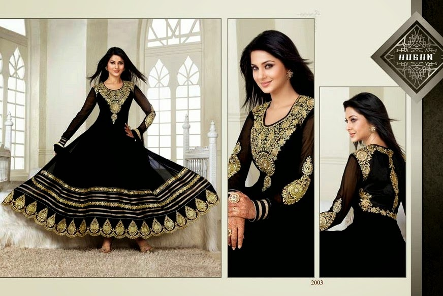 Indian Long Frocks for Wedding and Parties