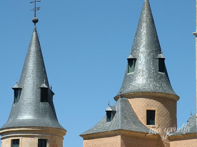 Torreones del Alcázar de Segovia