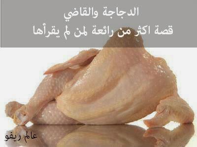 الدجاجة والقاضي - قصة اكثر من رائعة لمن لم يقرأها