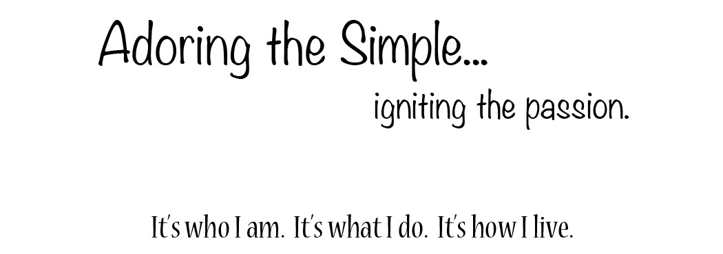 Adoring the Simple