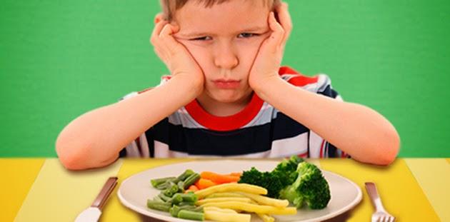 Anak Susah Mahu Makan