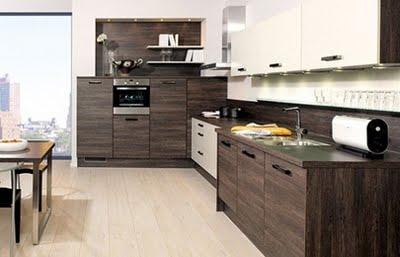 Decora y disena 10 fotos de cocinas de madera modernas - Cocina de madera moderna ...
