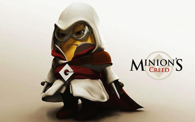 Minions disfrazados de personajes