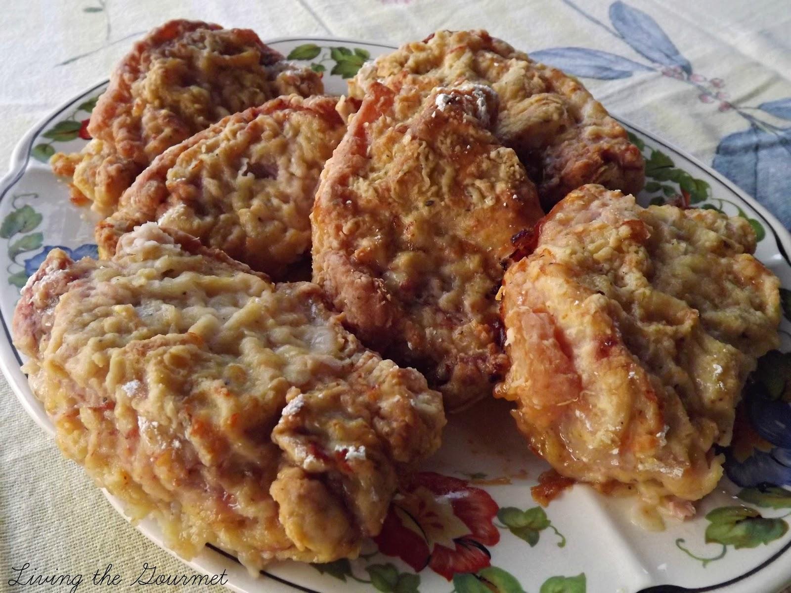 Living the Gourmet: Oven Fried Boneless Pork Chops