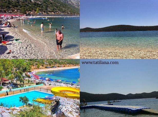 Antalya Kaş Akçagerme Plajı