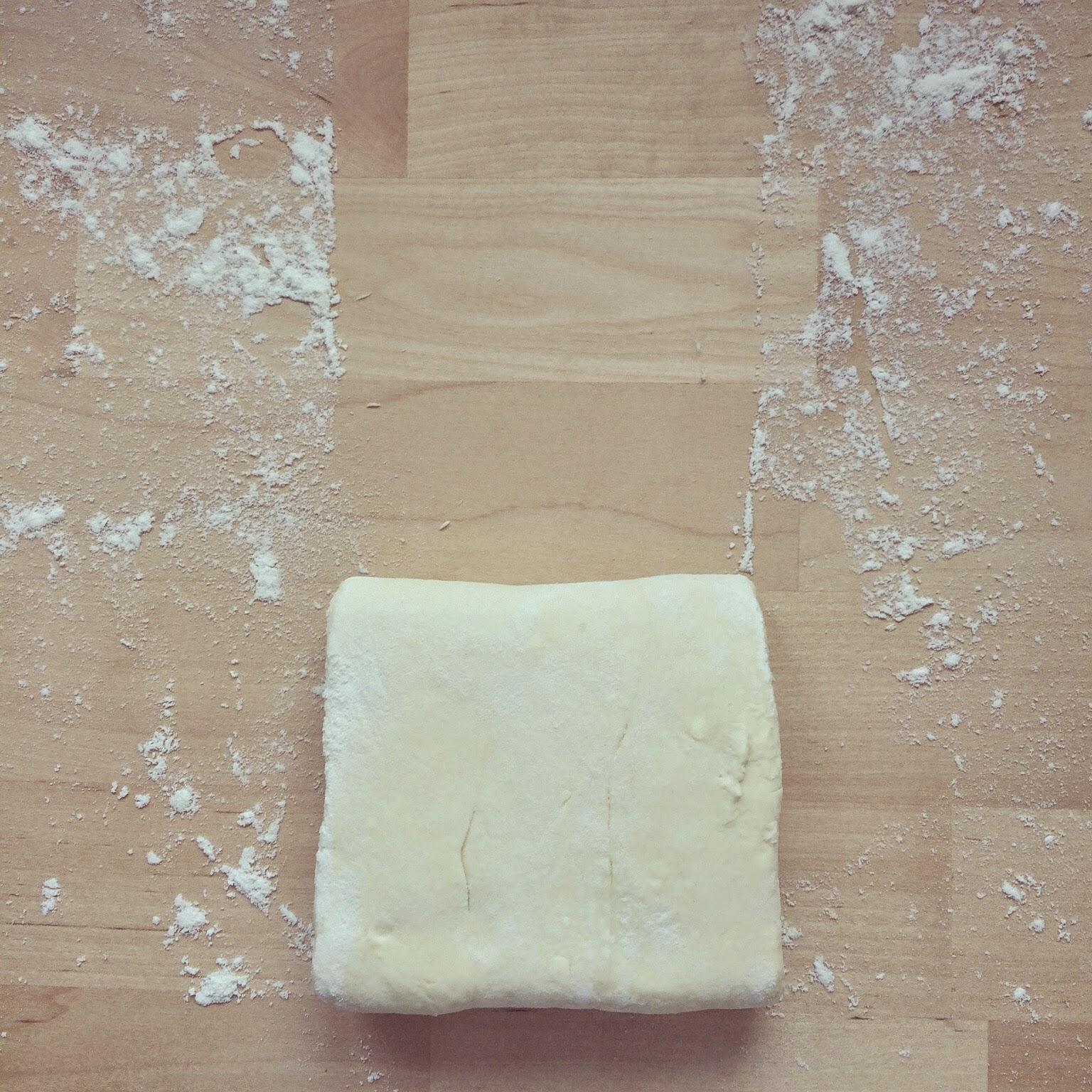 pâte feuilletée allégée