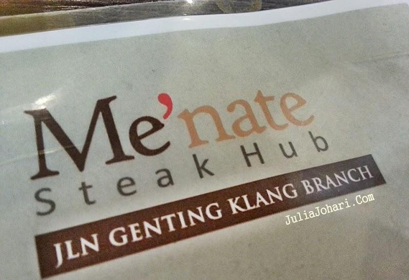 Makan Mampu Milik Meatballs di Me'nate Steak Hub