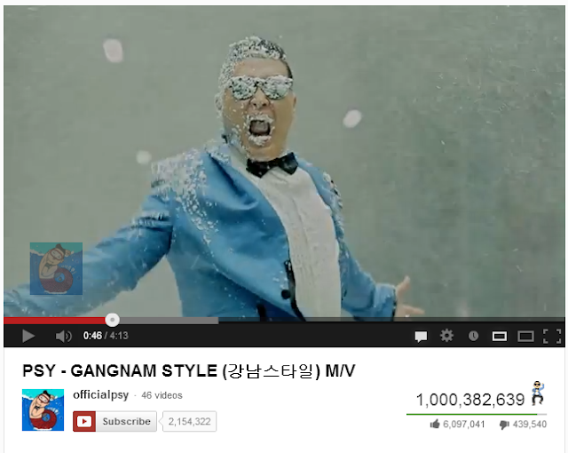 Gangnam Style First YouTube Video To Reach One Billion Hits