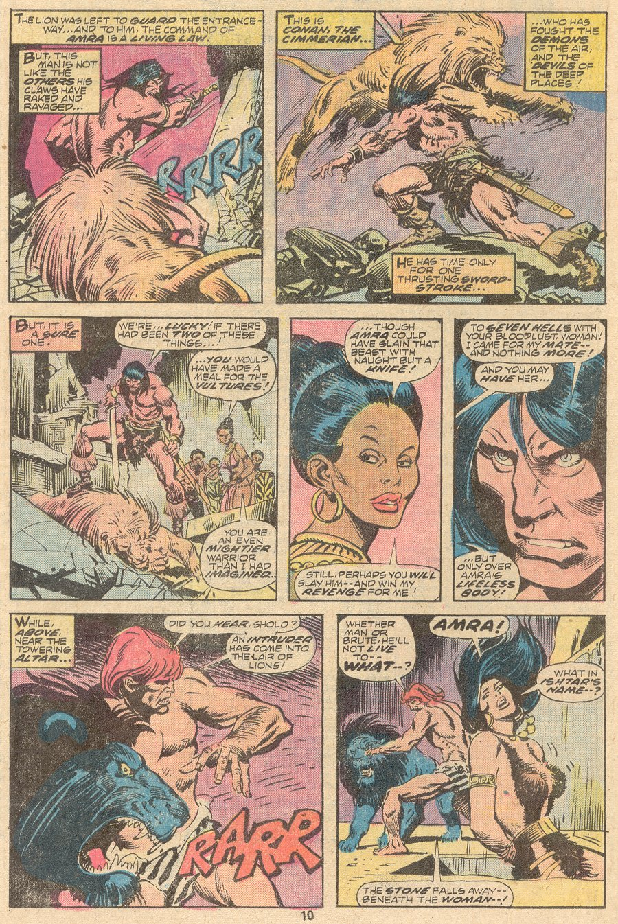 Conan the Barbarian (1970) Issue #63 #75 - English 7