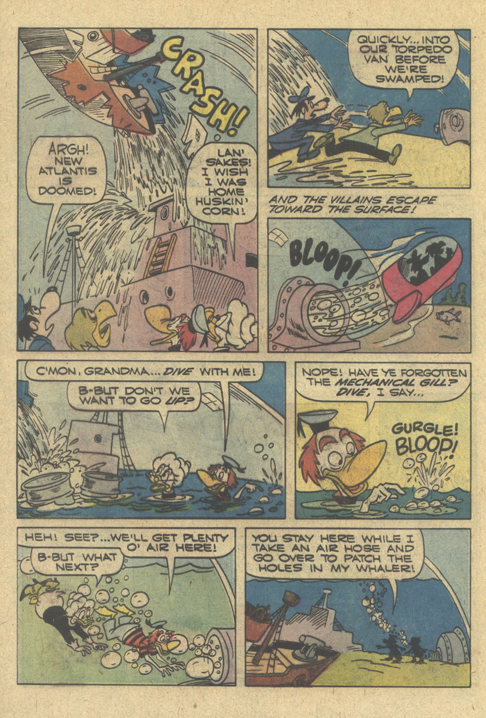 Read online Moby Duck comic -  Issue #30 - 32